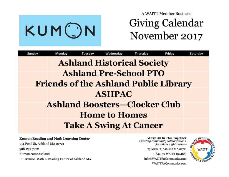 kumon nov
